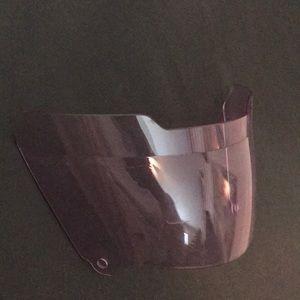 football visor (light purple tint)